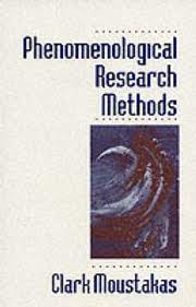phenomenological research methods moustakas pdf